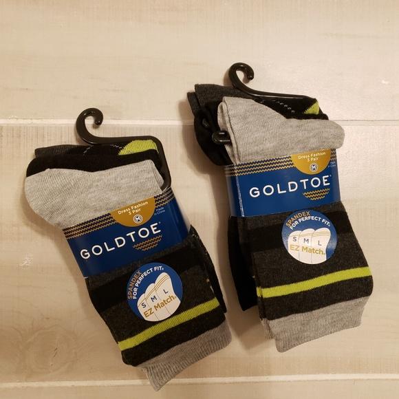 Gold Toe Other - Gold Toe Socks- 6 pairs for Kids - Meduim